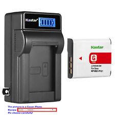 Kastar Battery LCD Wall Charger for Sony NP-BG1 NPFG1 NPBG1 NPFG1 Typr G Battery