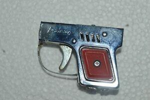 Vintage PARTNER Gun Lighter Japan Works Complete Clean Sparks & Works Fine 1950s