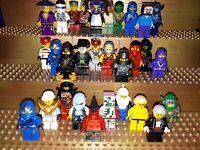 30 Lego City Figuren mit Kopfbedeckung. Minifig, Town, Polizei, Arbeiter, C17