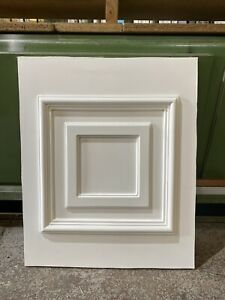 UPVC Half Door Panel, White, 600mm Wide By 725mm Height 28mm Thick (P211)