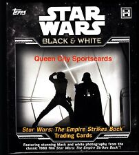 2019 Topps Star Wars The Empire Strikes Back Black & White Sealed Hobby Box