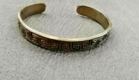 Rare ancient viking bracelet bronze artifact authentic very stunning