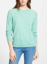 Joie Corey Cashmere Sweater in Heather Dusty Seagras L