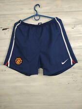 Manchester United Shorts Size MEDIUM Mens Football Soccer Nike 287614