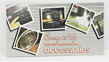 "Vintage 1984 General Motors GM ""Snap it Up"" Accessories Brochure 25 pages"