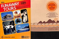 9 Epirotiki Brochures from 1970s w/ Plans & Interiors -NAUTIQUES sHiPs WORLDWIDE