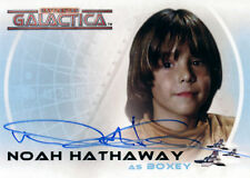 The Complete Battlestar Galactica Autograph A4 Noah Hathaway as Boxey