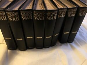 Purnell's History Of The Second World War -x 8 Volumes 1 To 8 Collection Only