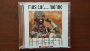 Musiche del Mondo - Africa CD 2000 Papa Wemba Mory Kante Angelique Kidjo