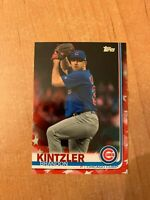 2019 Topps Update - Brandon Kintzler - #US275 Independence Day Parallel #d 02/76
