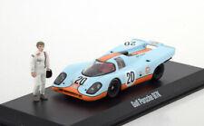1:43 Greenlight Porsche 917K Le Mans McQueen 1971 Gulf