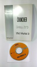 The Cruncher Spell It 3 Kid Works 2 PC Software 1994 Davidson Creative Labs Inc