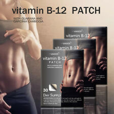 30 day Supply B12 Weight Loss Patches Vitamin B-12 Energy Patch Fitness