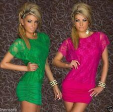 Elastane, Spandex Clubwear Women's Round Neck Dresses