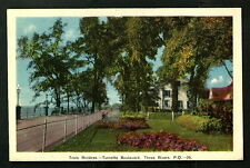 CANADA V.OLD POSTCARD TROIS RIVIERES-TURCOTTE BOULEVAND-THREE RIVER P.QUEBEC RRE