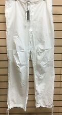 James Perse Los Angeles White Drawstrings Pants MPR1039 Size 30
