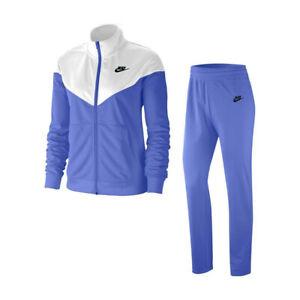 Nike 2pc Sportswear Sapphire/White Women's Track Suit Size X-Small