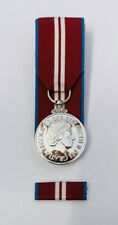 More details for full size court mounted queen's diamond jubilee 2012 medal & pin ribbon bar