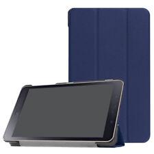 Blue Leather PU Flip Cover Case Fr Samsung Galaxy Tab A 8.0 2017 T380 T385 Table