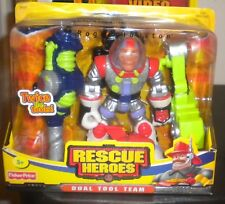 NEW 2003f FISHER PRICE RESCUE HEROES DUAL TOOL ROGER HOUSTON ASTRONAUT
