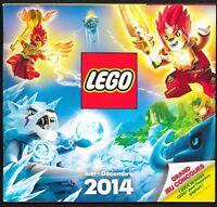 Lego - Catalogue Juin-Décembre 2014 - 88 pages - 21 x 19,5 cm