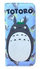 Ghibli Studio Totoro Cute Long Wallet Card Holder Coin Purse Zipper Bags Anime