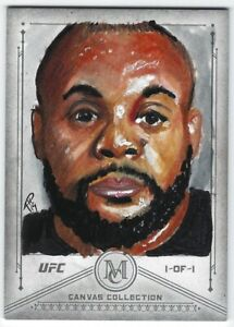 DANIEL CORMIER 1/1 SKETCH 2019 Topps UFC Museum Collection DC 1 OF 1