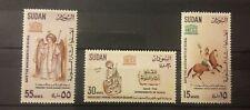 Sudan nice stamps set mnh