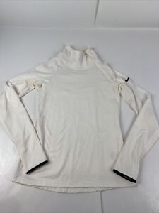 Nike Pro Dri-Fit 1/4 Zip Running Gym Pullover w/ Thumb Holes size women's Med