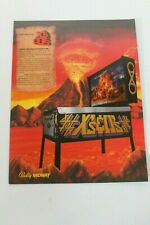Original Bally Pinball Machine X's & O's - Flyer- Sales Ad, Brochure- Original< 00006000 /a>