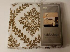 Vantage Martha Stewart Golden Garland Tablecloth 60 x 84