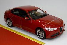 Alfa Romeo Giulia rot metallic rosso 1:24 - Burago Bburago