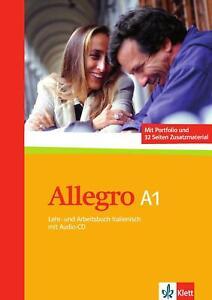 Allegro / Lehr- und Arbeitsbuch mit CD (A1) Buch mit con CD
