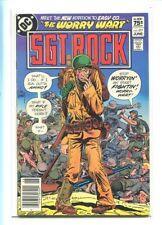 SGT. ROCK #377 HI GRADE GREAT KUBERT COVER CANADIAN PRICE VARIANT