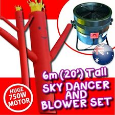 air dancer sky dancer wavy inflatable man advertising marketing inc Blower & Man