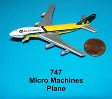 Micro Machines 747 ( miniature plane )   NEW