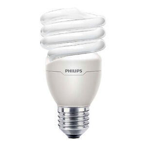 Philips DimmableTornado Energy Saver Light Bulb 20W Spiral E27 CFL Warm White