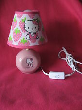 Sanrio HELLO KITTY LAMP STRAWBERRY Collectible Pre-Owned 1976-2002