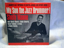 1963 SHELLY MANNE MY SON THE JAZZ DRUMMER PROMO Shorty Rogers,jewish M3609 LP