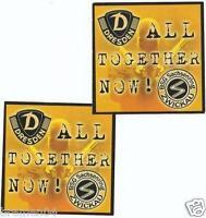 Aufkleber Nr.16 + ULTRAS Dynamo Dresden + Zwickau + All Together Now + 2 Stück