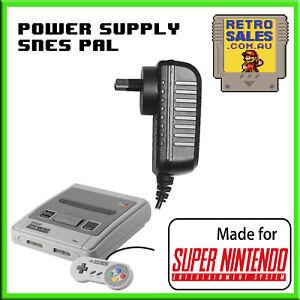 Nintendo PAL SNES Power Supply Adapter Pack for Super Nintendo Console AU Plug