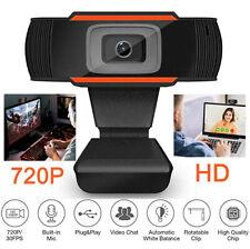 Webcam HD 1280*720P Kamera USB 2.0 3.0 Mit Mikrofon für Computer PC Laptop Mac