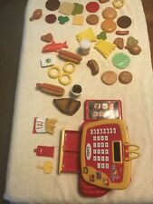 Mcdonald'S Cash Register Play Food Hamburger + More