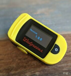 OXYWATCH C20 ChoiceMMed Walgreens Finger Pulse Oximeter Blood Oxygen - USED -