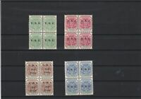 Transvaal South Africa Mint Never Hinged Stamps Blocks ref R 18379