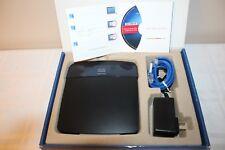 Linksys E3200 300 Mbps 4-Port Gigabit Wireless N Router