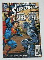 Adventures of Superman #539 1st Appearance of Anomaly 1996 DC Comics VF