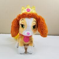 "Disney Princess Palace Pets Belle 10"" Plush Puppy Teacup Stuffed Animal Toy"