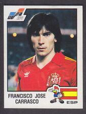 Panini - Euro 84 - # 230 Francisco Carrasco - Espana