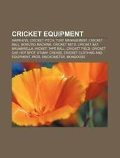 Cricket Equipment : Cricket Pitch, Hawk-Eye, Turf Management, Bowling.